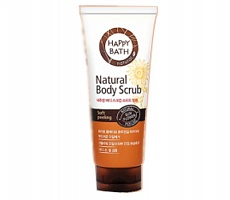 Скраб для тела Happy Bath Natural Body scrub Гладкое тело, 200мл