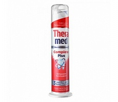 Зубная паста Thera-Med Complete Plus, красная, 100мл
