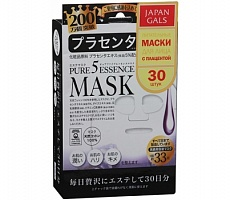 Маска д/лица Japan Gals  Pure5 Essential Mask PLACENTA 30 шт