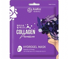 AsiaKiss Hydrogel Mask Collagen Premium Гидрогелевая маска для лица с коллагеном 25 гр