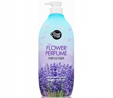 Aekyung Shower Mate Flower Perfume Purple Flower Гель для душа Лаванда 900 гр